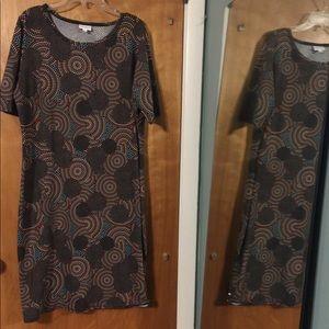 NWOT LuLaroe (Julia?) dot dress